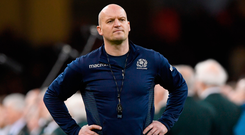 Scotland coach Gregor Townsend. Photo: Getty Images