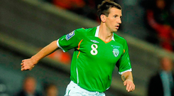 Liam Miller: 'A genuinely nice guy. Always polite, he never crossed the line, never took anything for granted and always respectful and level-headed.' Photo: Pat Murphy/Sportsfile