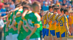 It is costing €15,000 a week to run the Roscommon senior team, and Leitrim's spend of €300,000 a year is the lowest in the country, but the inter-county scene's costs have spiralled out of control. Photo: David Maher/Sportsfile