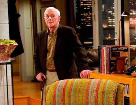 STAR ROLE: John Mahoney as Marty Crane in 'Frasier'