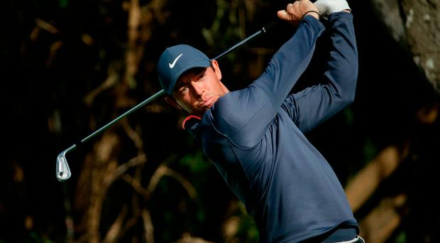 Rory McIlroy consistently drives the ball over 300 yards