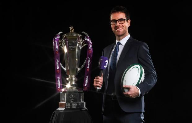 Joe Molloy, TV3's new rugby presenter