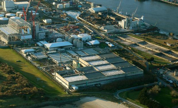 Upgrade: the waste water treatment plant at Ringsend in Dublin