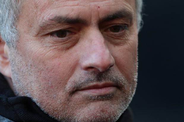 Manchester United manager Jose Mourinho saw his side slump to defeat against Newcastle on Sunday. Photo: Reuters