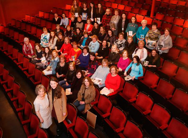 More than 50 women from all over the country who have played the role answered Druid's call to come to the Gaiety. Photo: Photocall