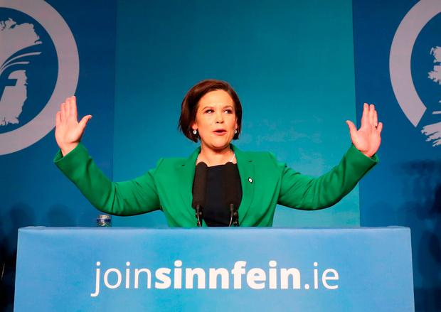 Mary Lou McDonald. Photo: PA