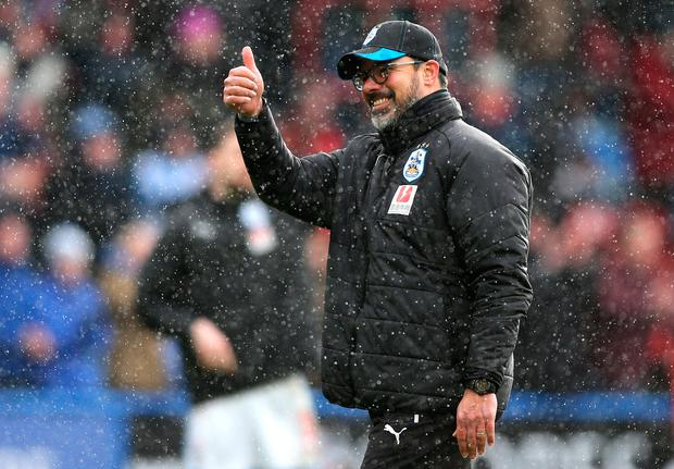 Huddersfield boss David Wagner. Photo: Getty Images