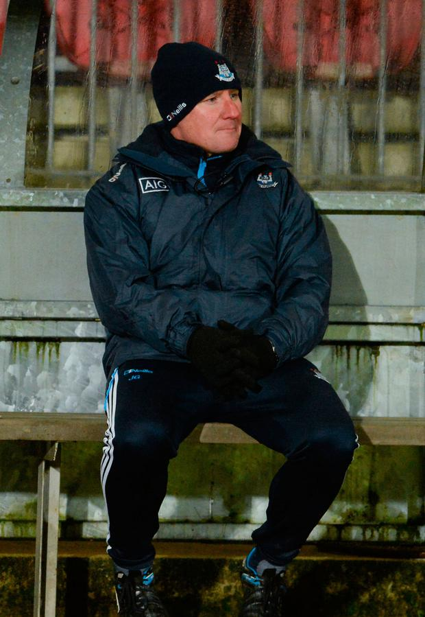 Jim Gavin: Surprised to be playing league games this early in the year. Photo: Oliver McVeigh/Sportsfile