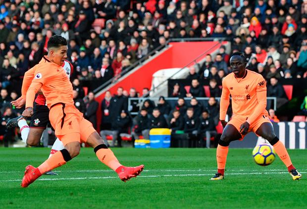 Liverpool's Roberto Firmino. Photo: Getty Images