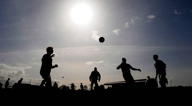 Antrim and Wicklow fought out a dogged draw in testing conditions at Corrigan Park, Belfast, yesterday. (stock photo: Sportsfile)