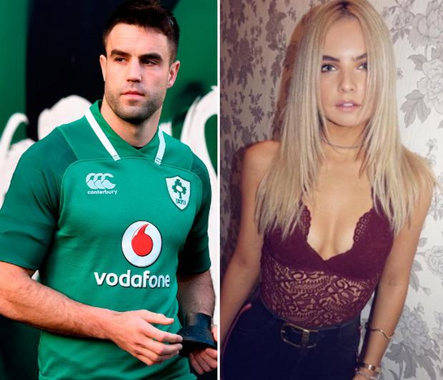 Conor Murray, left, and Joanna Cooper, right