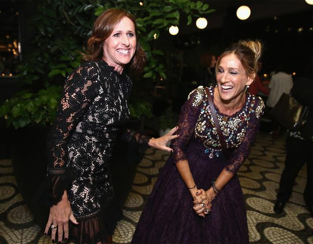 Molly Shannon and Sarah Jessica Parker
