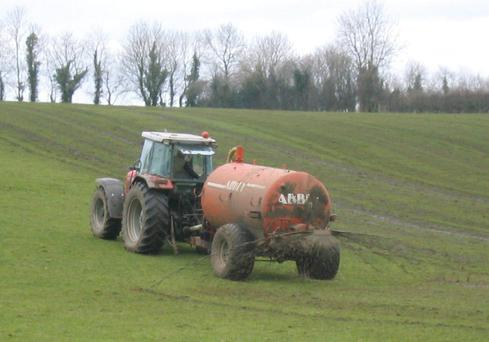 Atrocious weather is hampering slurry spreading