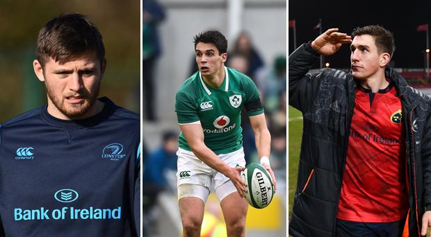 Ross Byrne, Joey Carbery and Ian Keatley