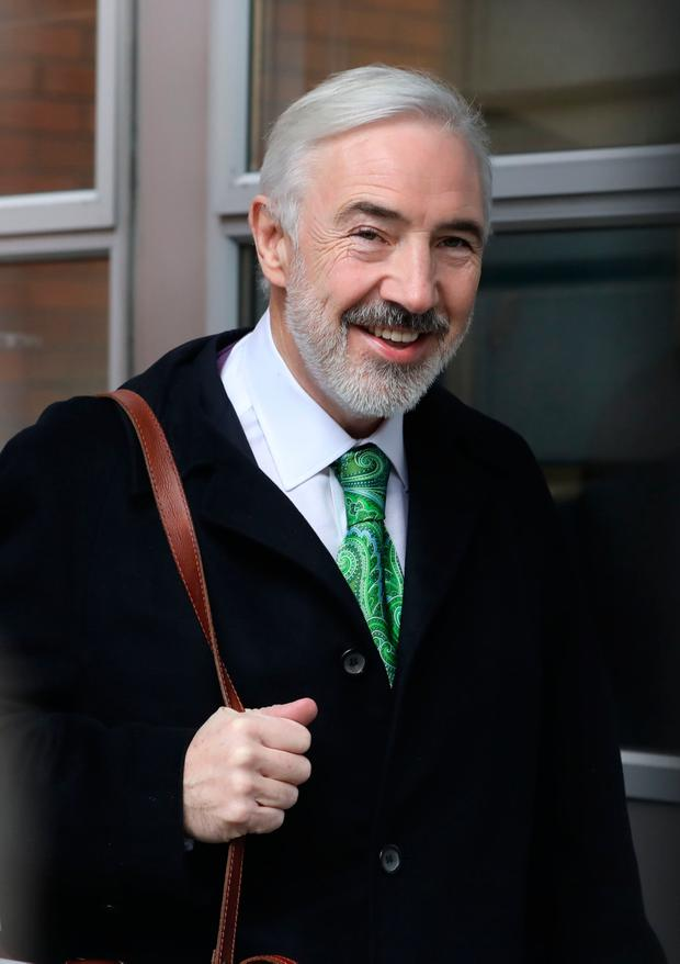 Developer Seán Dunne has bankruptcy proceedings hanging over him in the US and Ireland. Photo: Collins Courts