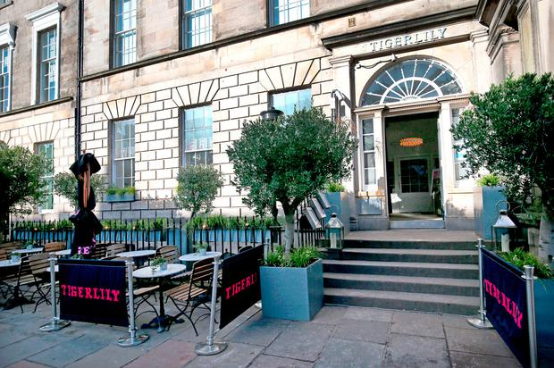 The Tigerlily bar in Edinburgh that was visited by French players