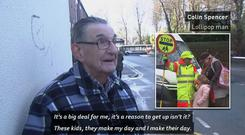 83-year-old Lollipop man Colin Spencer