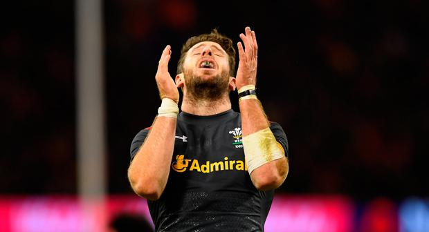 Wales' Alex Cuthbert is out of the Six Nations