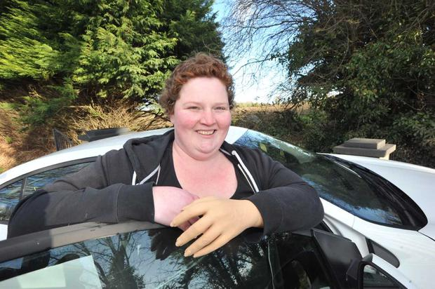 Carol Haslam (38) is calling for an immediate review of the criteria which makes her ineligible for the grant to adapt her car, despite the fact she is an amputee