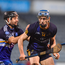 13 February 2018; Robbie Greville of DCU Dóchas Éireann in action against Rian McBride of Dublin Institute of Technology during the Electric Ireland HE GAA Fitzgibbon Cup Semi-Final match between Dublin Institute of Technology and DCU Dóchas Éireann at Parnell Park in Dublin. Photo by Eóin Noonan/Sportsfile