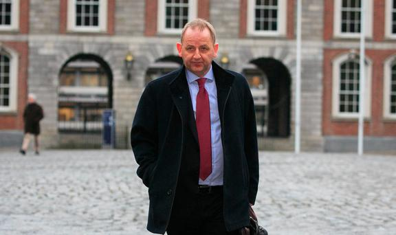 Michael McDowell says the report referring a rape allegation against Sgt Maurice McCabe, pictured, should have been double-checked. Picture: Collins