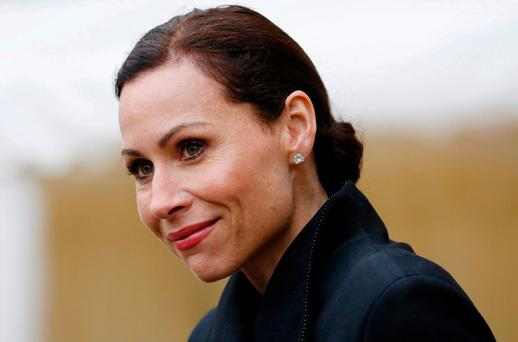 File photo dated 04/04/13 of Minnie Driver who has become the first celebrity to quit as an Oxfam ambassador following allegations senior staff working in crisis zones paid for sex with vulnerable locals. PRESS ASSOCIATION Photo. Issue date: Wednesday February 14, 2018. The Good Will Hunting star resigned after 20 years with the charity, saying she was