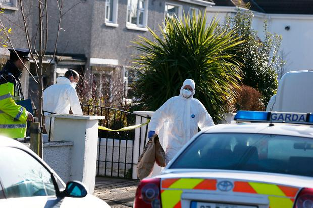 Gardai at the scene Stephen Collins/Collins Photos