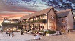 The proposed Fallon & Byrne store