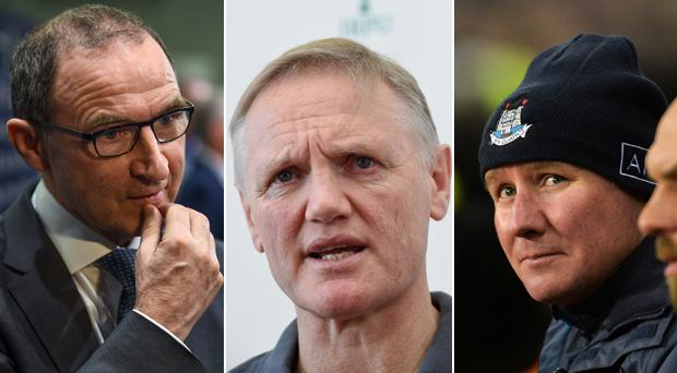 Martin O'Neill, Joe Schmidt and Jim Gavin have had issues with the media recently