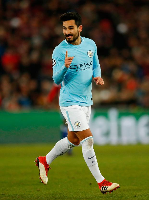 Gundogan: Impressing his manager Photo: Reuters/Andrew Boyers