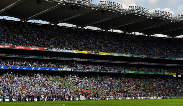 Dublin's drawing power in Croke Park – and indeed when they visit provincial grounds – ensures that they almost always head the income list. Photo: Brendan Moran/Sportsfile
