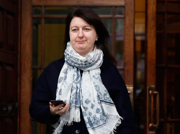 Mr Justice Peter Kelly described Marion Fitzpatrick, above, as heroic in her efforts to look after her son Oisin, who is now aged 21. Photo: Collins Courts