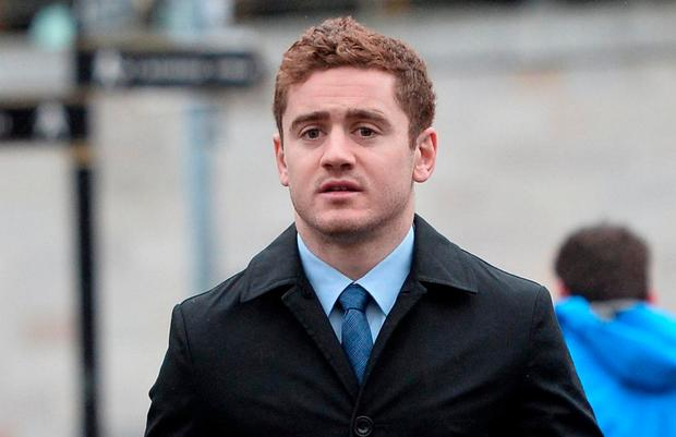 Paddy Jackson arrives at Laganside Magistrates court. Photo: Pacemaker.