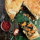 Moroccan filo pie from Fearless Food by Lynda Booth. Photo: Joanne Murphy