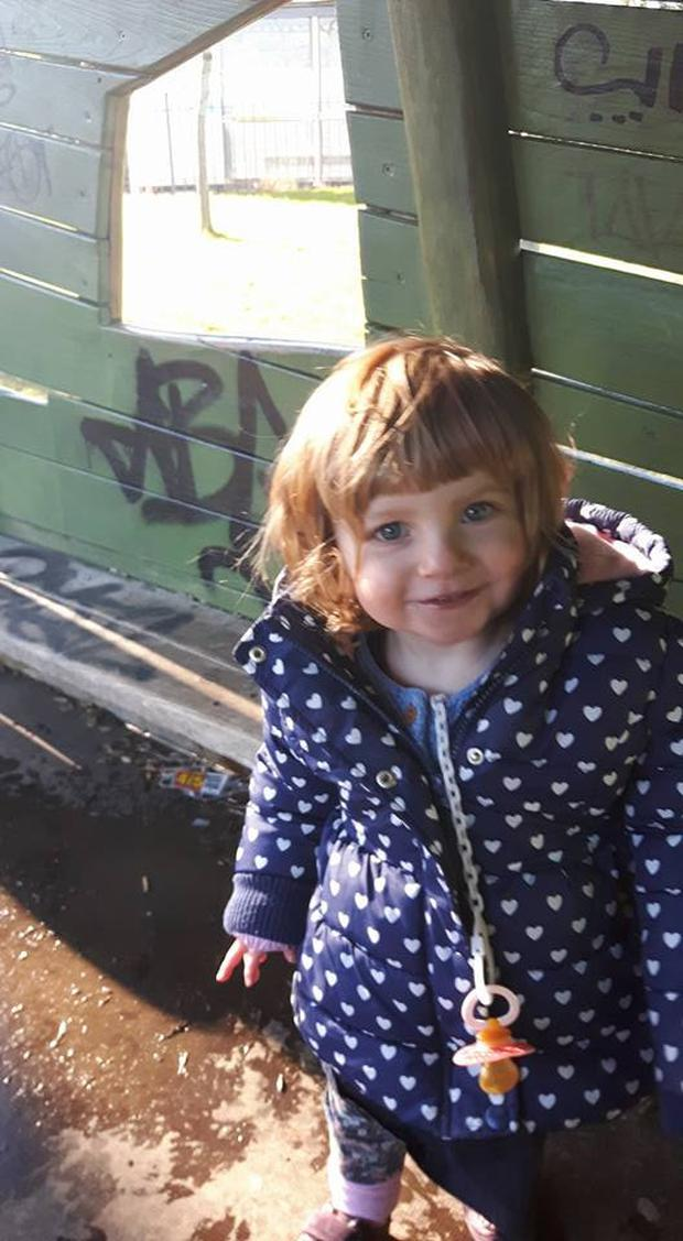 This is tragic three year old Zoe Cannon who died just days after allegedly being assaulted in her home