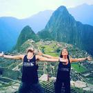 Neil and Patricia at Machu Picchu, Peru (Photo: Instagram/CrazyGlobetrotters)
