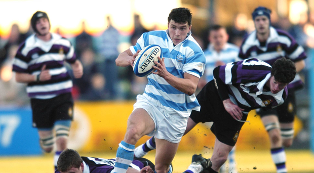 29 January 2006: Vasily Artemyev in action for Blackrock against Terenure in the Leinster Schools Senior Cup. Picture credit; Ciara Lyster / SPORTSFILE