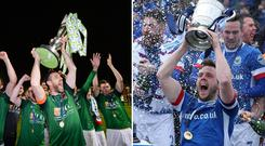 Cork City and Linfield are the reigning champions on either side of the border