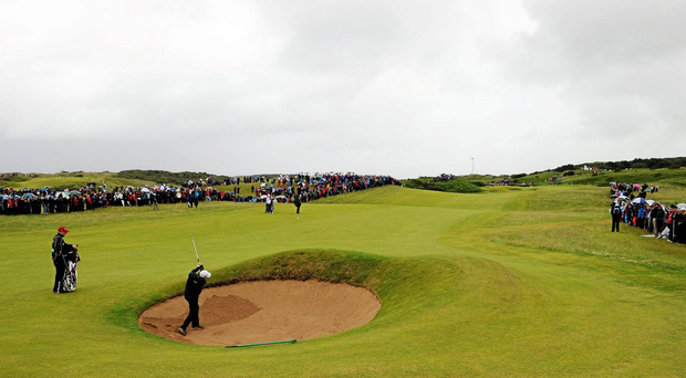 The R&A is considering placing a cap on spectator numbers at next year's Open Championship at Royal Portrush. Photo: Sportsfile