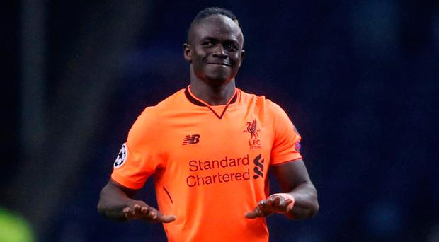 Liverpool will be hoping that Sadio Mane maintains the form he rediscovered during Liverpool's demolition of Porto. Photo: Reuters