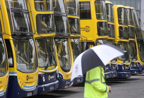 The Go-Ahead fleet of 125 vehicles will operate about 10pc of the current Dublin Bus routes
