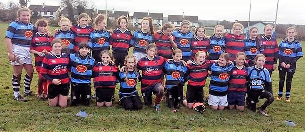 Fethard girls after a recent U-13 blitz