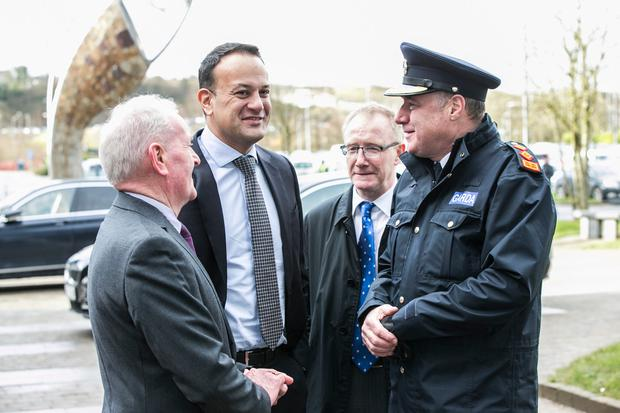 Taoiseach Leo Varadkar before his 'Project Ireland 20140' announcement today (Photo: Kyran O'Brien)