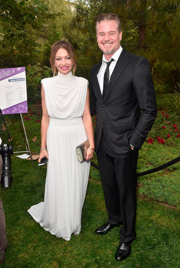 Rebecca Gayheart-Dane (L) and Actor Eric Dane at the 16th Annual Chrysalis Butterfly Ball on June 3, 2017 in Los Angeles, California. (Photo by Alberto E. Rodriguez/Getty Images for Chrysalis Butterfly Ball)
