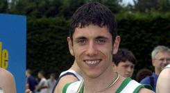 Jamie McCarthy pictured competing for Riverstick AC, Kinsale in 2002