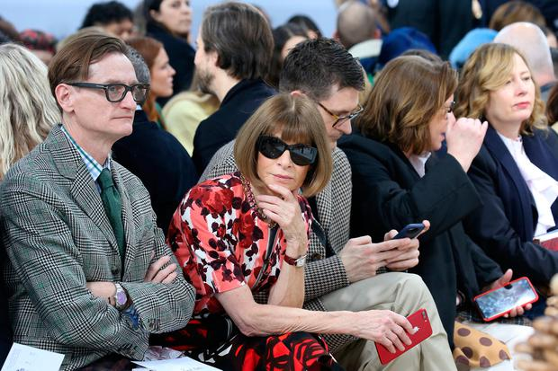 Vogue editor-in-chief Anna Wintour attends the JW Anderson show at London Fashion Week, in London, Britain February 17, 2018. REUTERS/Paul Hackett