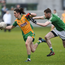 17 February 2018; Kieran Molloy of Corofin in action against James Murphy of Moorefield during the AIB GAA Football All-Ireland Senior Club Championship Semi-Final match between Corofin and Moorefield at O'Connor Park in Tullamore, Offaly. Photo by Matt Browne/Sportsfile