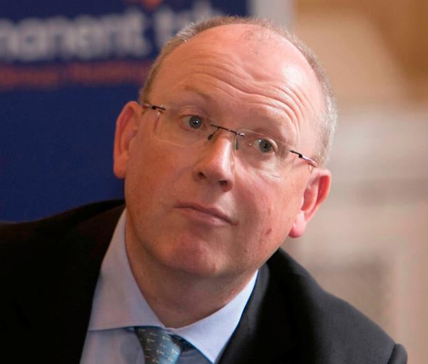 PTSB chief executive Jeremy Masding was keen to reduce the bank's non-performing loan ratio