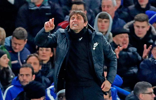 Antonio Conte is hoping Lionel Messi's drought against Chelsea continues on Tuesday night, Photo: Reuters