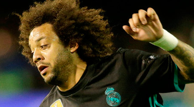 Real Madrid's Marcelo. Photo: Reuters